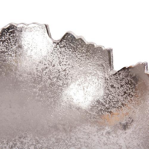 Howard Elliott - Silver Broken Edge Bowl / Wall Art