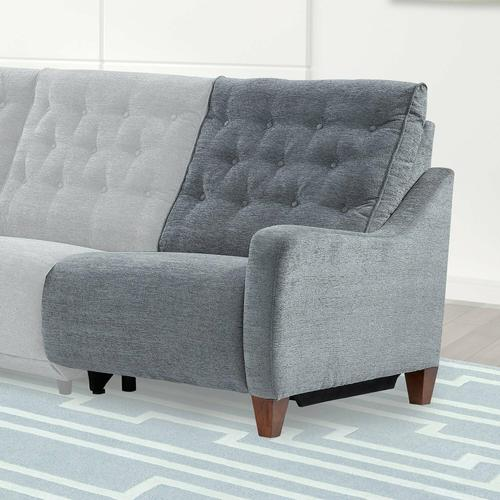 Parker House - CHELSEA - WILLOW GREY Power Right Arm Facing Recliner