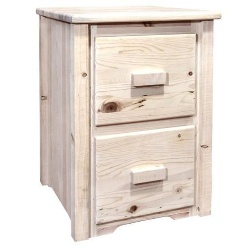 Montana Woodworks - Homestead Collection 2 Drawer File Cabinet