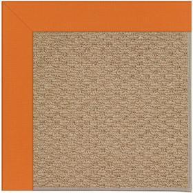 "Creative Concepts-Raffia Canvas Tangerine - Rectangle - 24"" x 36"""