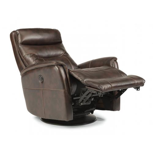 Alden King Power Swivel Recliner