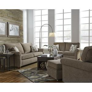 3 Cushion Sofa - Shown in 110-51 Pewter Chenille Finish