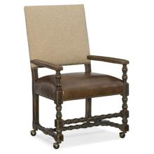 Dining Room Comfort Castered Game Chair