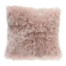 Cashmere Fur Pillow Light Purple