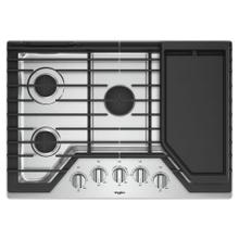 See Details - 30-inch Gas Cooktop with Griddle