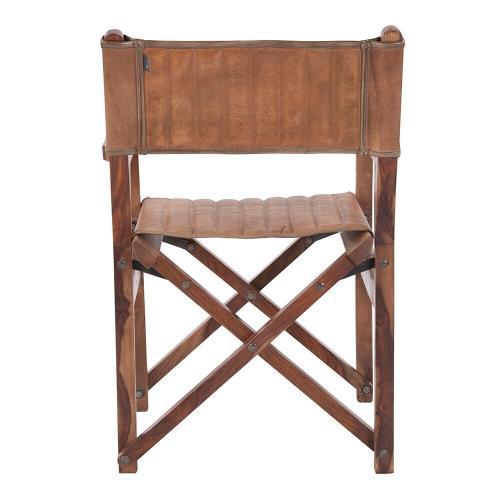 Howard Elliott - Leather Director's Chair