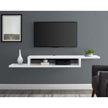 """See Details - 72"""" Asymmetrical Wall Mounted Console"""