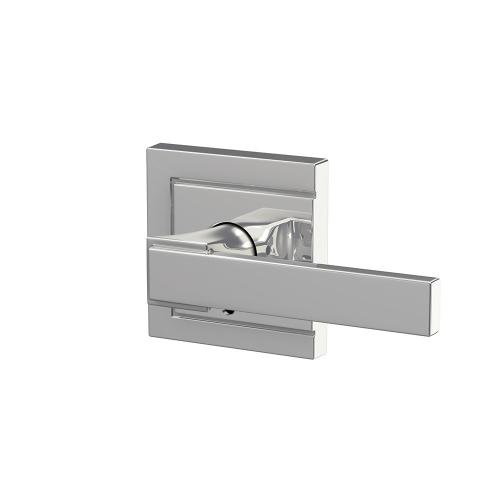 Custom Northbrook Non-Turning Lever with Upland Trim - Bright Chrome