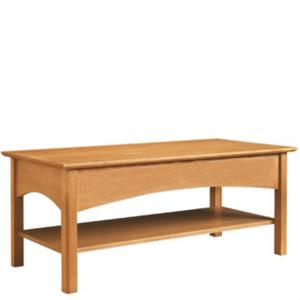 Leisters Furniture - Rectangular Coffee Table with Shelf