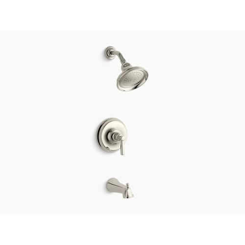 Kohler - Vibrant Polished Nickel Rite-temp Bath and Shower Trim Set With Npt Spout, Valve Not Included