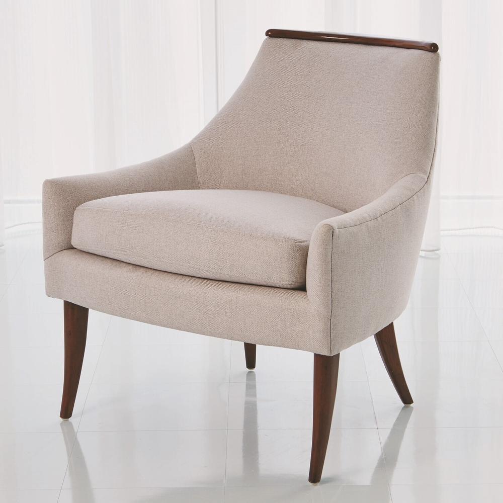 See Details - Boomerang Chair-Candid Fleece