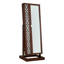 Hannah Deep Cherry Cheval Mirror