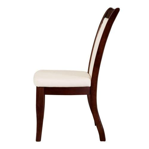 Cornett Transitional White Dining Chair
