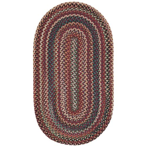 Bear Creek Heritage Red Braided Rugs (Custom)