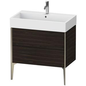 Duravit - Vanity Unit Floorstanding, Brushed Walnut (real Wood Veneer)