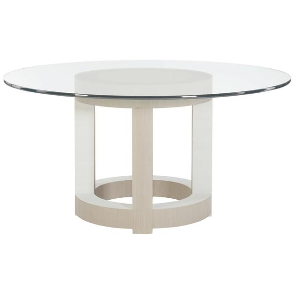 """See Details - Axiom Round Dining Table (60"""") in Linear Gray (381)"""