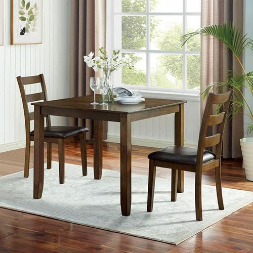 Furniture of America - Gracefield 3 Pc. Dining Table Set