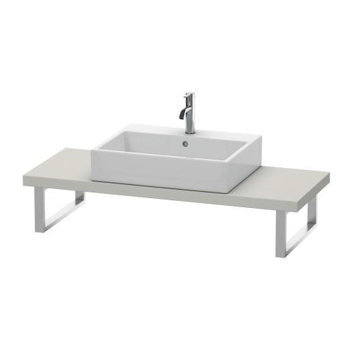 """Duravit - Console For Above-counter Basin And Vanity Basin Compact, Width Max. 78 3/4""""concrete Gray Matte (decor)"""