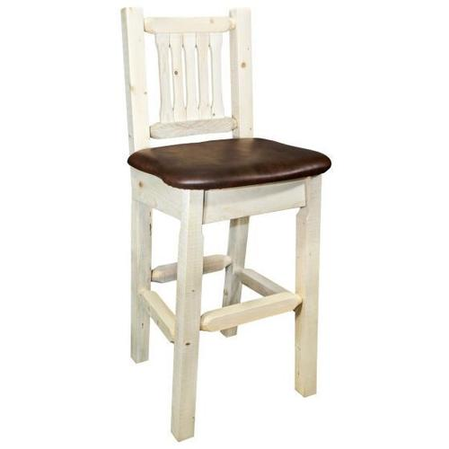 Homestead Collection Barstool with Back