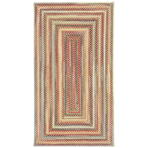 Americana Lt. Gold Braided Rugs (Custom)