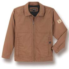 Light-lined canvas work jacket built for dependability.