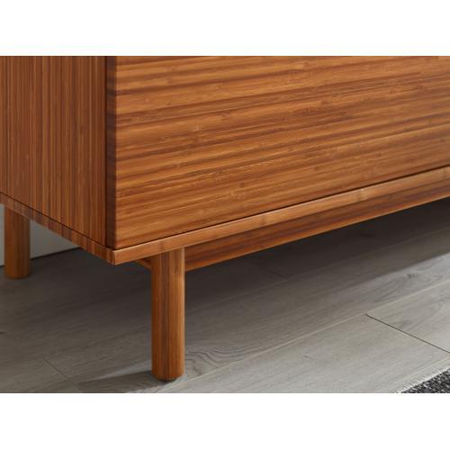 Greenington Fine Bamboo Furniture - Ventura 4 Drawer Double Dresser