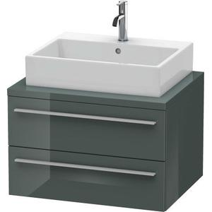 Vanity Unit For Console, Dolomiti Gray High Gloss (lacquer)