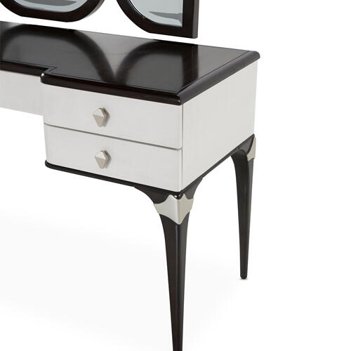 Amini - Vanity Desk W/mirror 2 PC