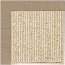 "Creative Concepts-Beach Sisal Dupione Sand - Rectangle - 24"" x 36"""