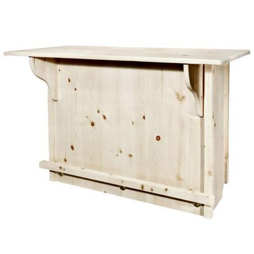 Montana Woodworks - Homestead Collection Bar with Foot Rail
