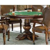Bar and Game Room Waverly Place Reversible Top Poker Table