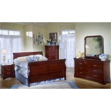 5933 Classic Twin BED COMPLETE; Twin HB, FB, Rails & Slats