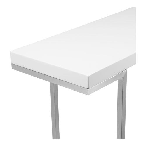 Repetir Console Table White Lacquer