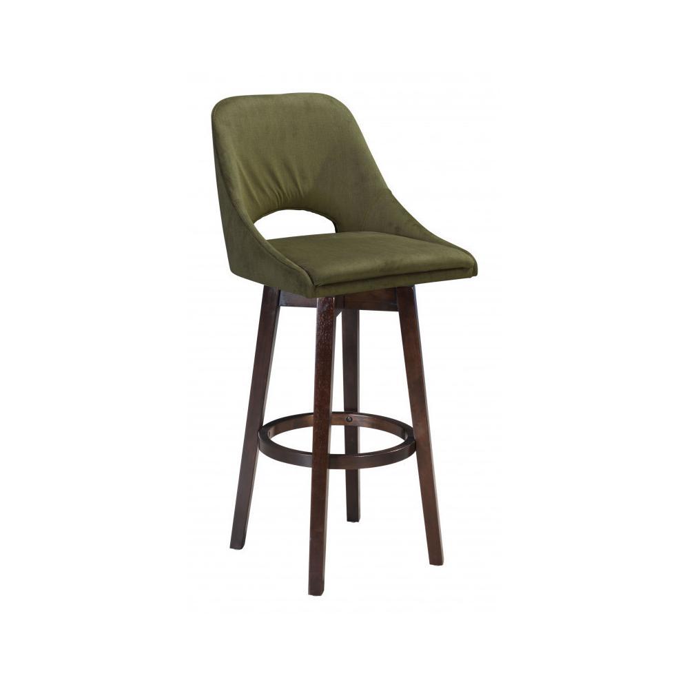 Ashmore Bar Chair Green