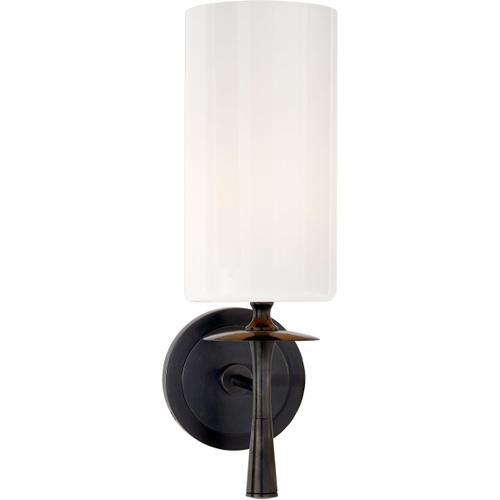 AERIN Drunmore 1 Light 5 inch Bronze Single Sconce Wall Light