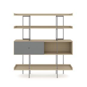 5201 Shelf in Drift Oak Fog Grey
