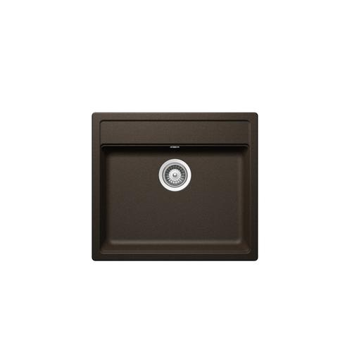 Bronze Built-in sink Mono N-100 stackpacked incl. automatic drain kit