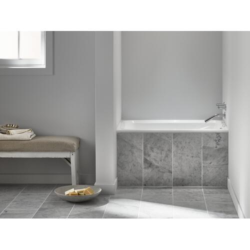 "White 48"" X 32"" Drop-in Bath"