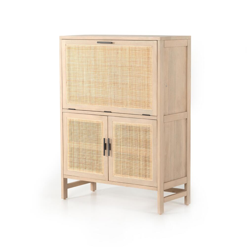 Caprice Bar Cabinet-natural Mango