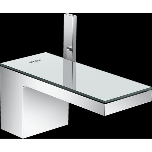 AXOR - Chrome / Mirror Glass Single-Hole Faucet 70, 1.2 GPM