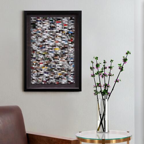 Howard Elliott - In the News Recycled Wall Art