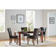 Nessa Casual Brown Dining Chair Product Image