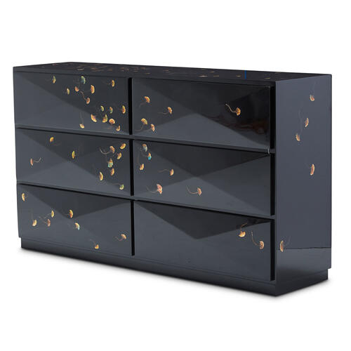 Windy Leaves Cabinet
