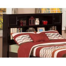 View Product - Newport Bookcase Headboard Full Espresso