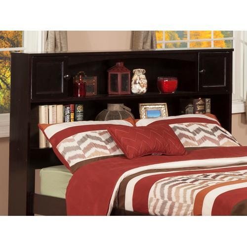 Atlantic Furniture - Newport Bookcase Headboard Full Espresso