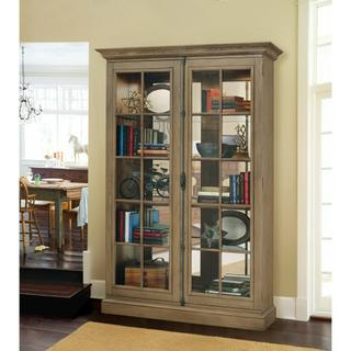 See Details - Howard Miller Clawson II Curio Cabinet 670021