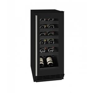 "U-LineHwc115 15"" Wine Refrigerator With Black Frame Finish (115v/60 Hz Volts /60 Hz Hz)"