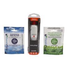See Details - Everydrop® Refrigerator Water Filter 2 - EDR2RXD1 (Pack Of 1) + Refrigerator FreshFlow™ Air Filter + FreshFlow Produce Preserver Refill