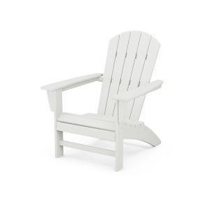 Polywood Furnishings - Nautical Adirondack Chair in Vintage White