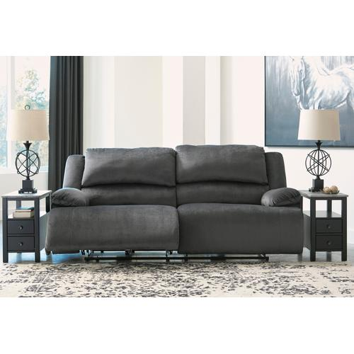 Clonmel -Charcoal Power Reclining Sofa
